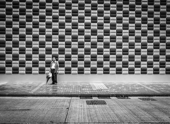 Checkerboard Pattern Solitude