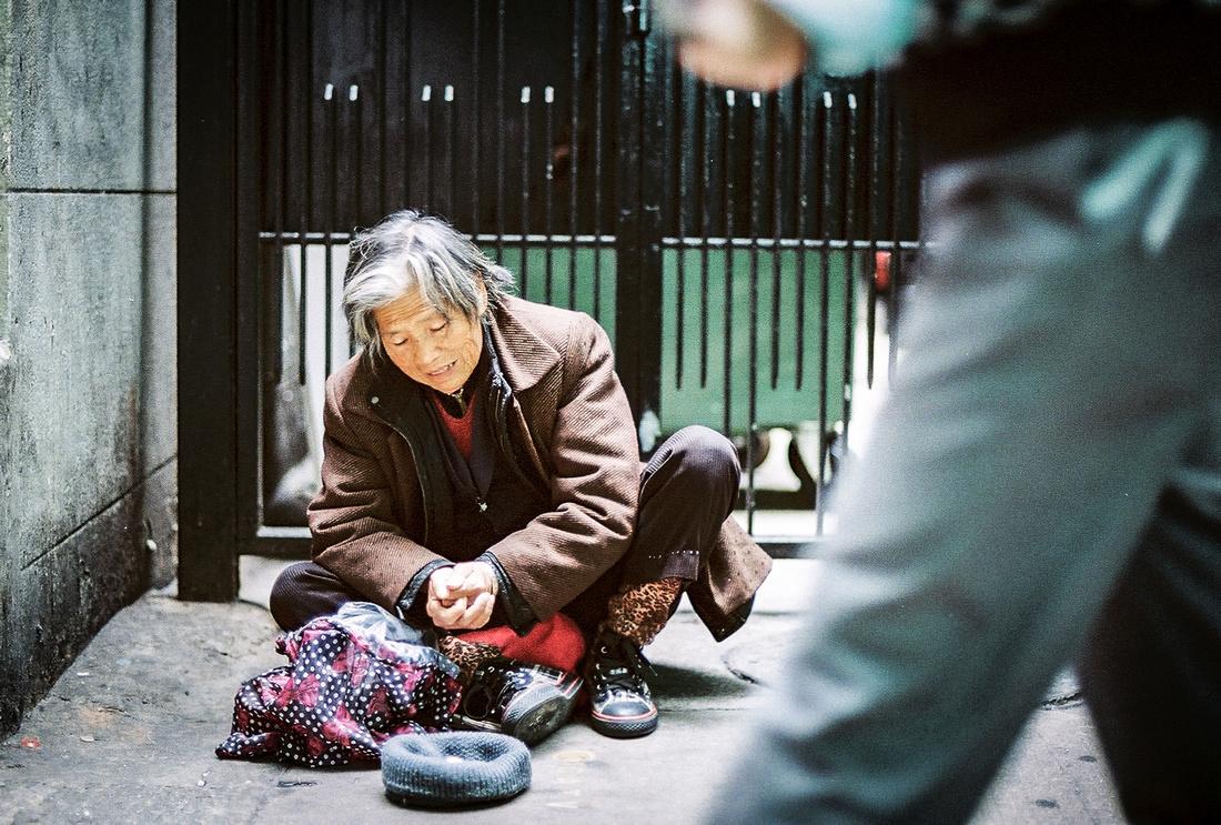 Panhandler, Hong Kong